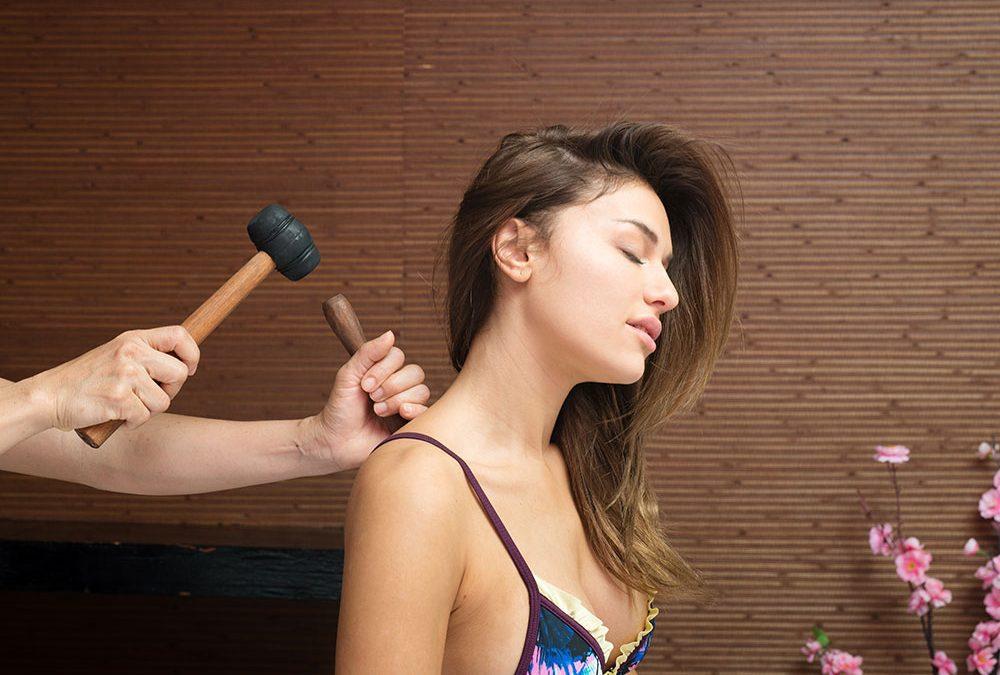 scalp neck & shoulder